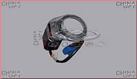 Накладка личинки замка зажигания (до 2012г., с фишкой) Chery Tiggo [2.0, -2010г.] T11-3704019 Китай [оригинал]