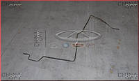 Трубка тормозная заднего L колеса, от блока ABS до соеденителя, комплектация Basic, Chery A13, Forza [HB], A13-3506090AB, Original parts