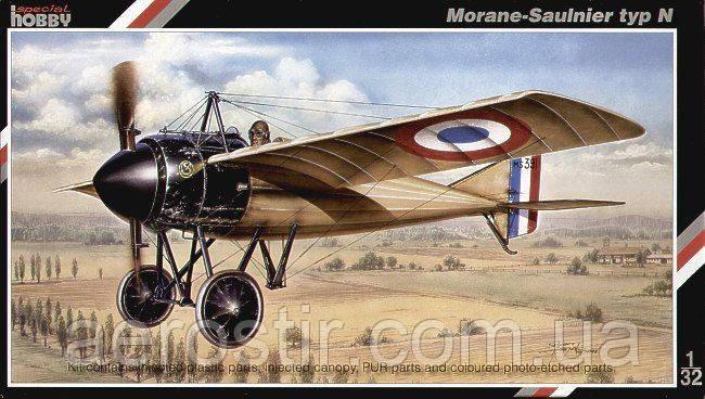 Morane-Saulnier typ N 1/32 Special Hobby 32006
