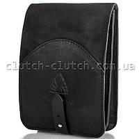 Мужская сумка через плечо MIKHAIL IKHTYAR 3648 черная