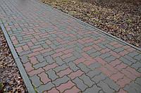 Тротуарная плитка «Волна»  Красный