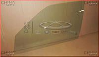 Стекло двери переднее левое (зеленая тонировка) Chery Amulet [-2012г.,1.5] A11-5203111AB Китай [лицензия]