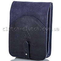 Мужская сумка через плечо MIKHAIL IKHTYAR 3649 синяя