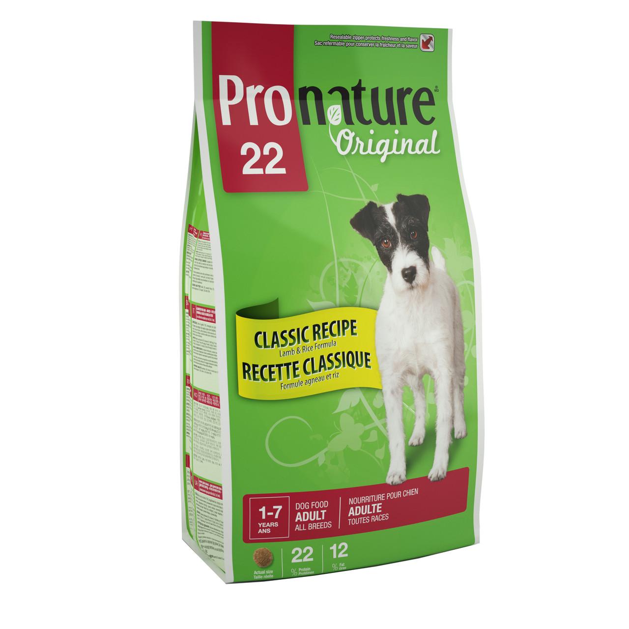 Pronature Original ALL BREEDS Adult LAMB and RICE 2.72 кг - корм для собак всех пород (ягненок/рис)