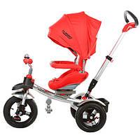 Детский трехколесный велосипед Turbotrike КРАСНЫЙ (M 3196A) с ремнями безопасности