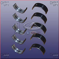 Вкладыши коренные (Acteco, STD,  комплект) Chery Eastar [B11,2.4, ACTECO] 481H-BJ1005013 Китай [лицензия]