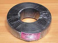 Комбинированный кабель EuroSat KBH-2/32CCA черный (бухта 100 м.)