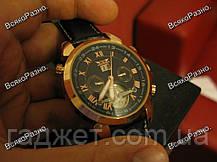 Мужские наручные часы скелетоны Jaragar Turboulion с автоподзаводом золотистые, фото 3