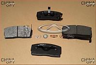 Колодки тормозные передние, с ABS, Geely CK1 [до 2009г.], Patron