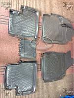 Ковры салона резиновые (комплект) Chery QQ [S11, 1.1] CPCHS11 Ukraine product [Украина]