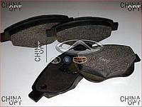 Колодки тормозные передние, Geely Emgrand EC7 [1.8], Аftermarket