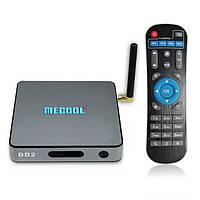 Смарт ТВ приставка Mecool BB2 Pro 3/16 ГБ, руссифицированный пакет ПО оригинал Гарантия!