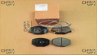 Колодки тормозные передние (cуппорт 6GN) Chery Beat [S18D,1.3] S21-6GN3501080 Китай [аftermarket]