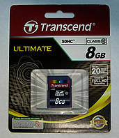 SDHC Transcend 8Gb Class 10
