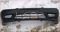 Бампер передний (противотуманки - трапеция) Geely CK1 [-2009г.] 1801433180 Китай [аftermarket]