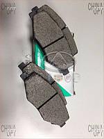 Колодки тормозные передние (6GN, без пружинок) Chery Amulet [1.6,-2010г.] A11-6GN3501080 DBB [Украина]