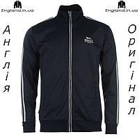 Куртка / Кофта Lonsdale темно-синия мужская спортивная | Куртка Lonsdale темносиня чоловіча спортивна