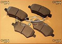 Колодки тормозные передние (тип 6GN) Chery A13 [Forza,HB] A13-3501080 Китай [аftermarket]