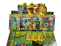 Конструктор LEBQ Ninja 1764-1, 8 коробок в наборе, блок из 16 комплектов