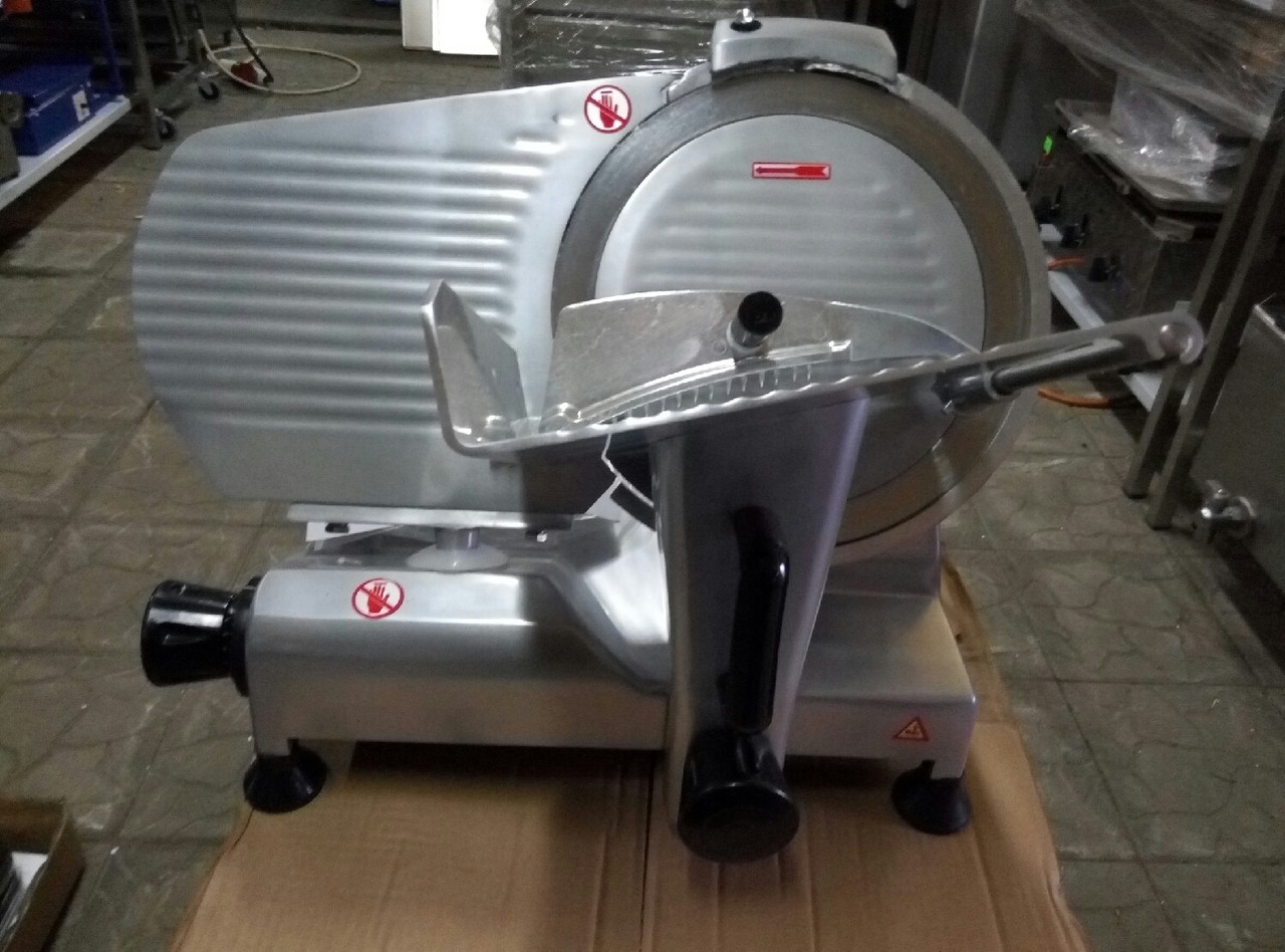 Полуавтоматический слайсер (ломтерезка) Vektor GRT 300 (диаметр 300 мм)