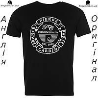 Футболка Pierre Cardin мужская черная для тренировок | Футболка Pierre Cardin чоловіча чорна