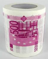 Туалетная бумага 500 ЕВРО