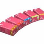 Перчатки (розовые) нитриловые Mercator Medical