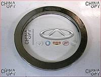 Прокладка приемной трубы (меднографитовое кольцо, плоское) Geely MK1 [1.6, -2010г.] 1016001444 Китай [оригинал]