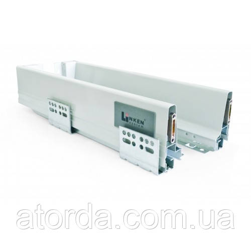LS BOX  Perfect Touch Latch L=400 H= 94 Linken System серый