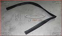 Уплотнительная резинка стекла передней двери L Chery Amulet [1.6,-2010г.] A11-5206111 Китай [оригинал]