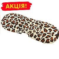 Маска на глаза для сна с 3D формой, цвет леопардовый