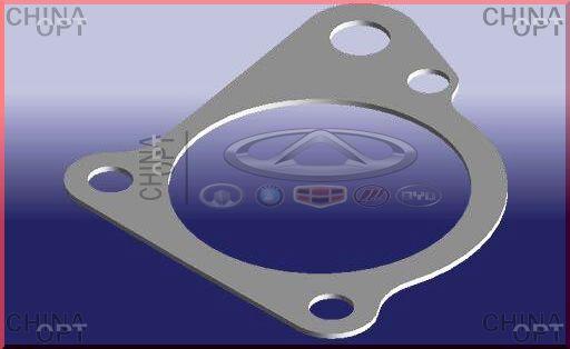 Прокладка корпуса термостата Chery Amulet [1.6,-2010г.] 480-1306053 Китай [аftermarket] - CHINA-OPT в Харькове