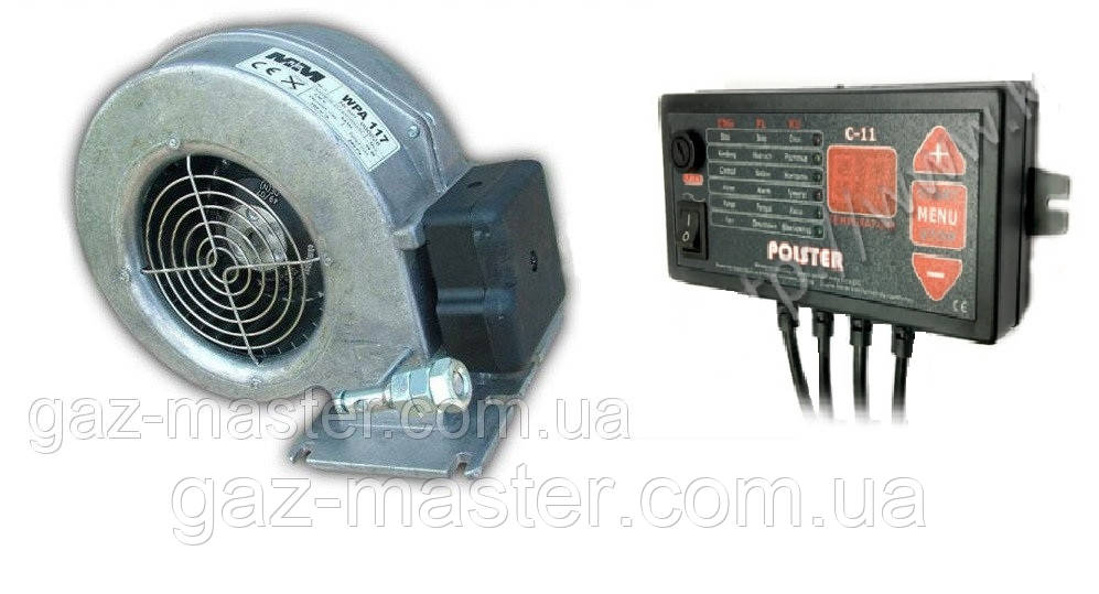 Автоматика и вентиялтор для ТТК Polster C-11 + WPA117