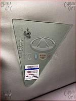 Стекло двери заднее R (седан, глухое, треугольник) Geely MK2 [1.5, 2010г.-] 1018005573 Китай [оригинал]