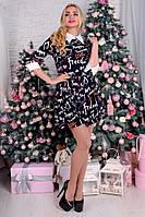 Молодёжное платье с пышной юбкой в разных расцветках