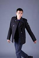 Куртка мужская утепленная  1211 мелтон 079 черная, фото 1