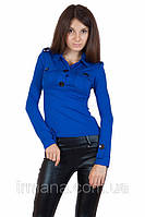 Рубашка 130 083 синяя, фото 1
