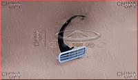 Заглушка переднего бампера (решетка) Chery QQ [S11, 1.1] S11-2803536-DQ Китай [аftermarket]