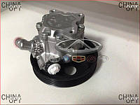 Насос гидроусилителя руля, ГУР (4G63, 4G64) Chery Tiggo [2.4, -2010г.,AT] T11-3407010 Китай [аftermarket]