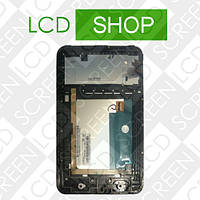 Модуль для планшета 7 Lenovo IdeaTab A3000, черный, дисплей + тачскрин