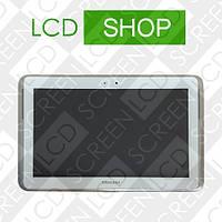 Модуль для планшета Samsung Galaxy Note 10.1 N8000, белый, дисплей + тачскрин