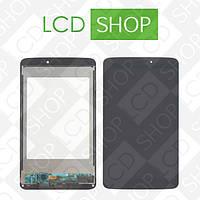 Модуль для планшета LG G Pad 8.3 V500, черный, дисплей + тачскрин, WWW.LCDSHOP.NET