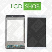 Модуль для планшета LG G Pad 8.3 V500, белый, дисплей + тачскрин