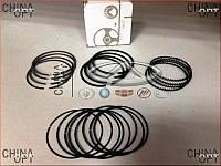 Кольца поршневые (MK 1.5 , STD , комплект) Geely CK2 E020110010 Китай [аftermarket]