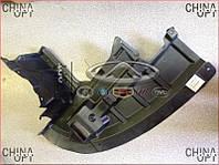 Защита двигателя пластиковая R, брызговик бампера, Geely EC7RV[1.8,HB], 1068001646, Aftermarket