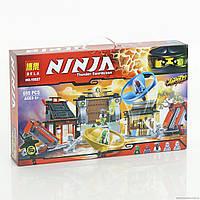 """Конструктор Bela Ninja аналог (LEGO NINJAGO) """"Боевая площадка для аэроджитцу"""""""