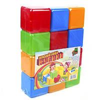 """Кубики цветные 12 шт. """"M-TOYS"""""""