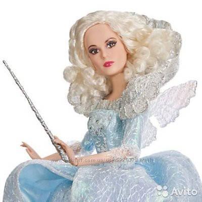 Коллекционная кукла Фея крестная Золушки