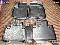 Ковры салона резиновые (X7, EX7, комплект) Emgrand EX7 [1.8,X7] CPGEX7 Ukraine product [Украина]