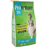Pronature Original (Пронатюр) Cat ADULT SEAFOOD DELIGHT - корм для кошек (рыба), 2.72кг